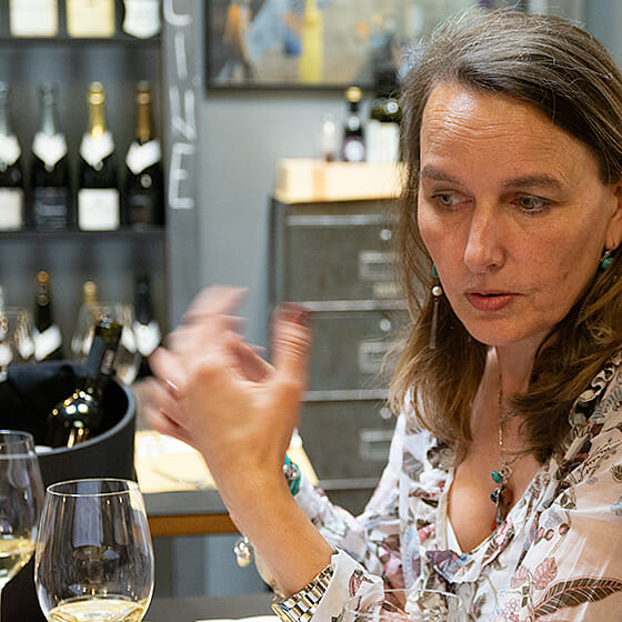 examen du vin : la vision