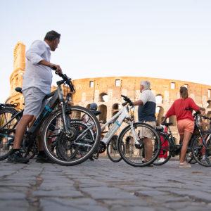 Week end à Rome : Découverte du Colisée à vélo