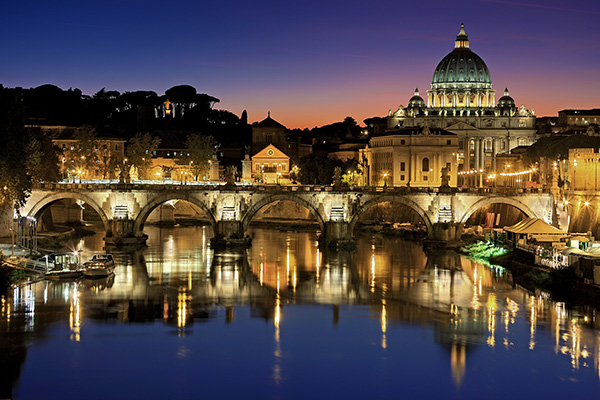 Venir à Rome en période de COVID