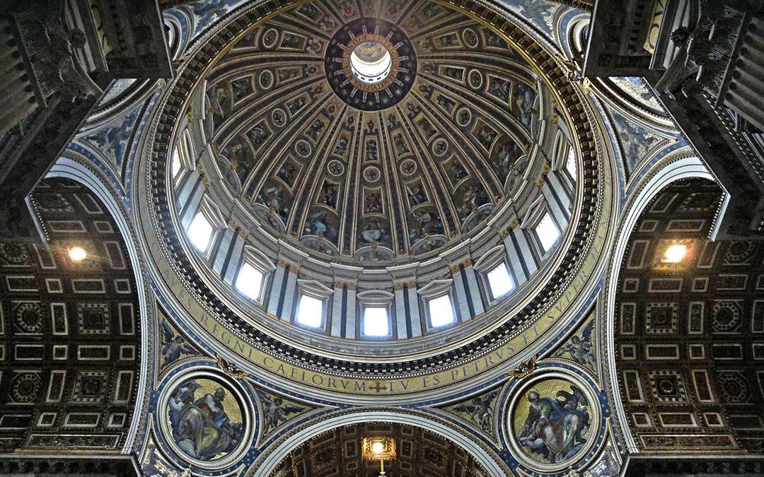La coupole de la Basilique Saint-Pierre, la plus belle vue de Rome