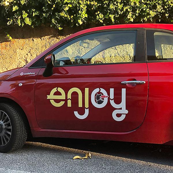 Enjoy, une autre solution d'auto partage à Rome