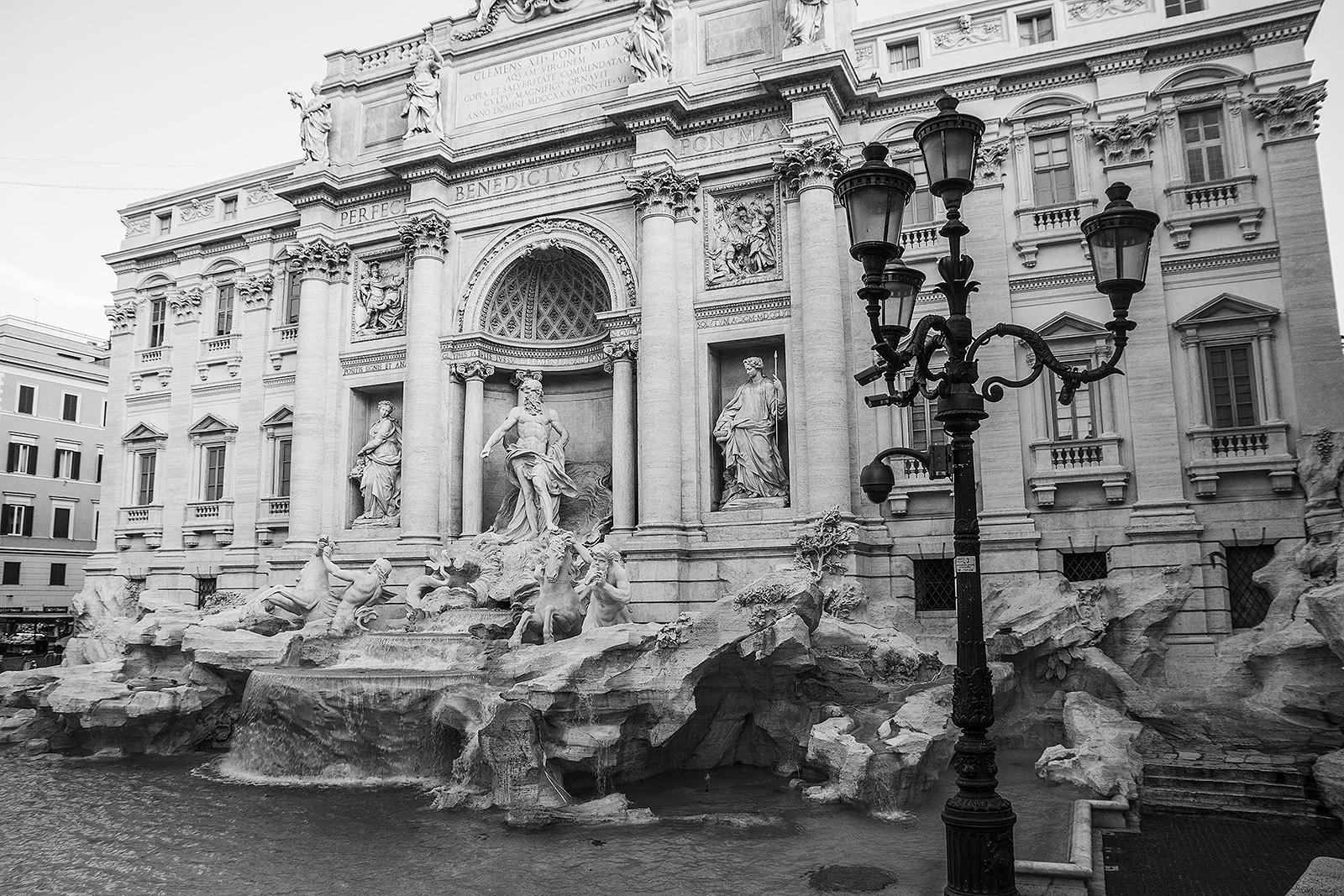 Wend end à Rome : découverte de la Fontaine de Trevi
