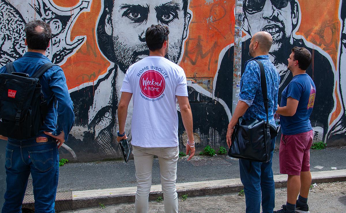 week end à Rome : de magnifique œuvres d'art pendant la balade street-art