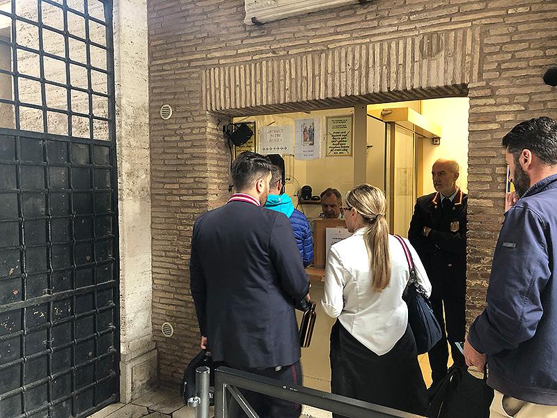Billetterie pour accéder à Coupole de la Basilique Saint-Pierre
