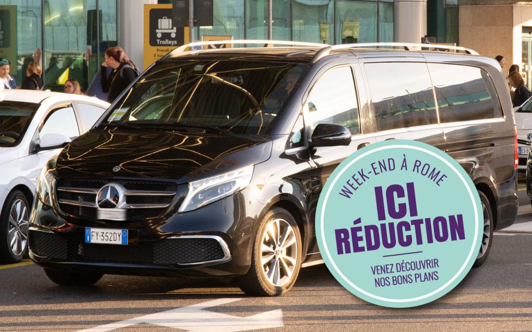 Transfert aéroport Rome centre ville et service taxi