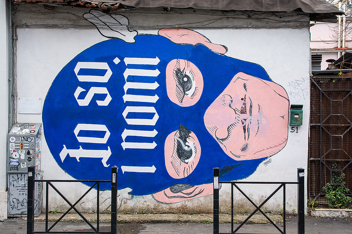 Street art Pigneto
