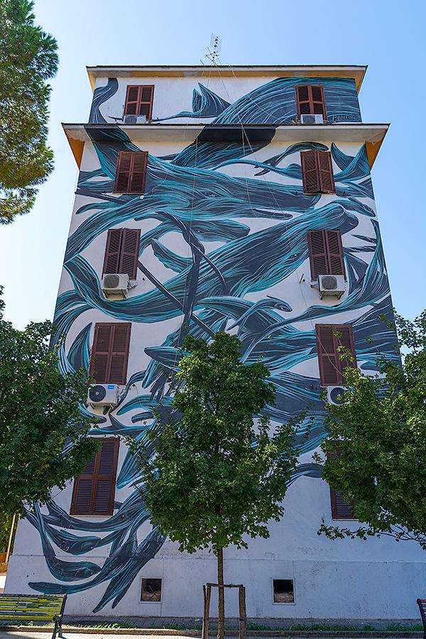 Street Art à Rome : PANTONIO (POR) - LE PONENTINO