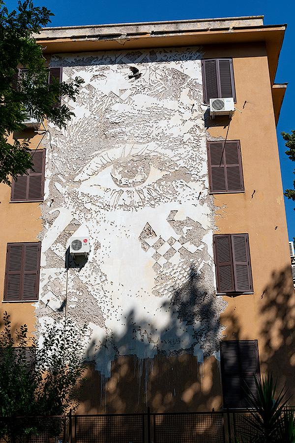Street Art à Rome : Artiste inconnu
