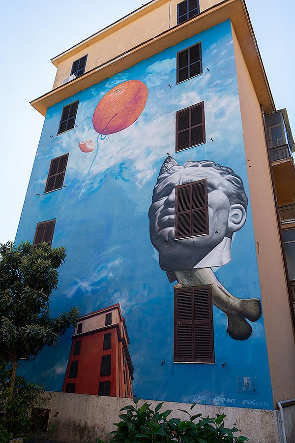 Street Art à Rome : GAIA (USA) - SPECTACLE, RENOUVELLEMENT, MATURITÉ
