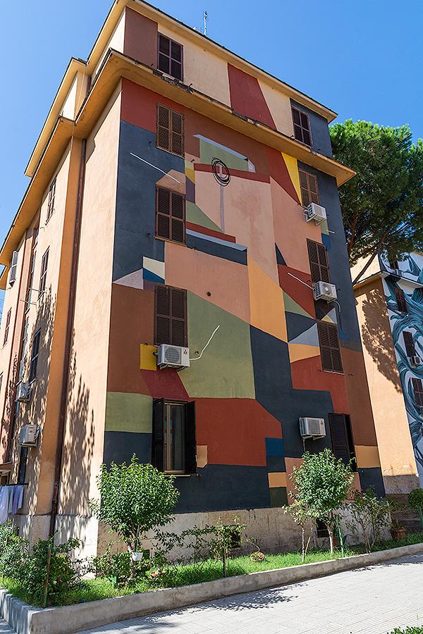 Street Art à Rome : CLEMENS BEHR (DE) - SANS TITRE