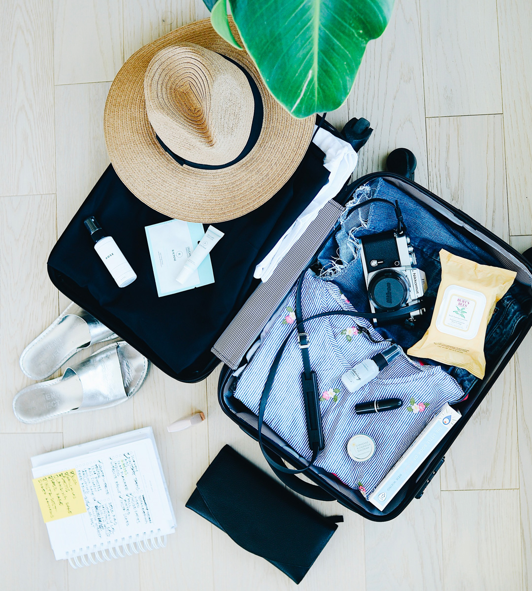 Un sac bien préparé pour votre séjour