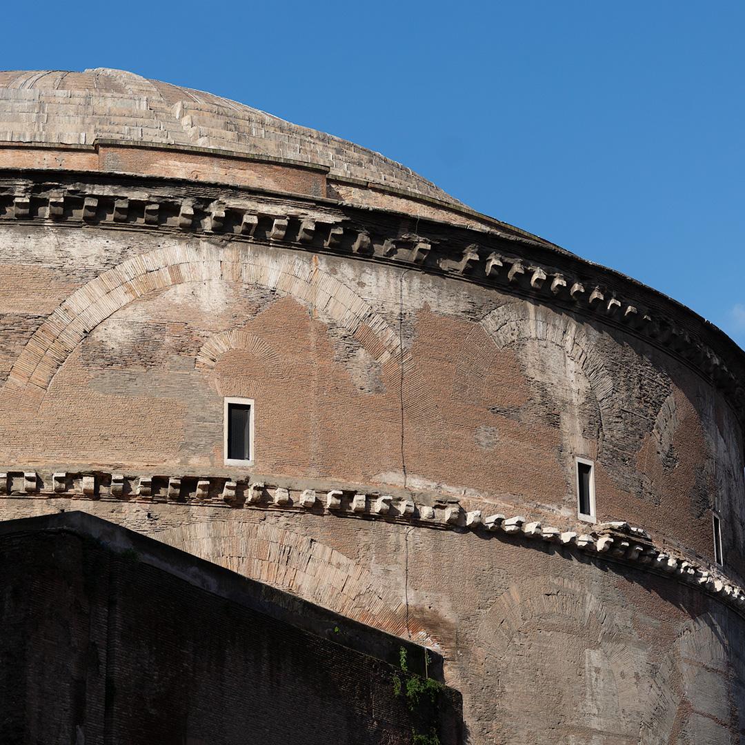 L'un des édifices religieux les plus célèbres : le Panthéon