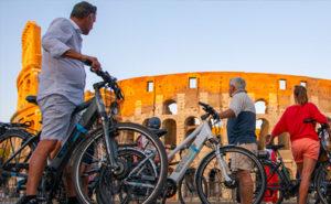 week-end à Rome - activités insolites et visites guidées à Rome : Un tour de vélo électrique dans la capitale italienne