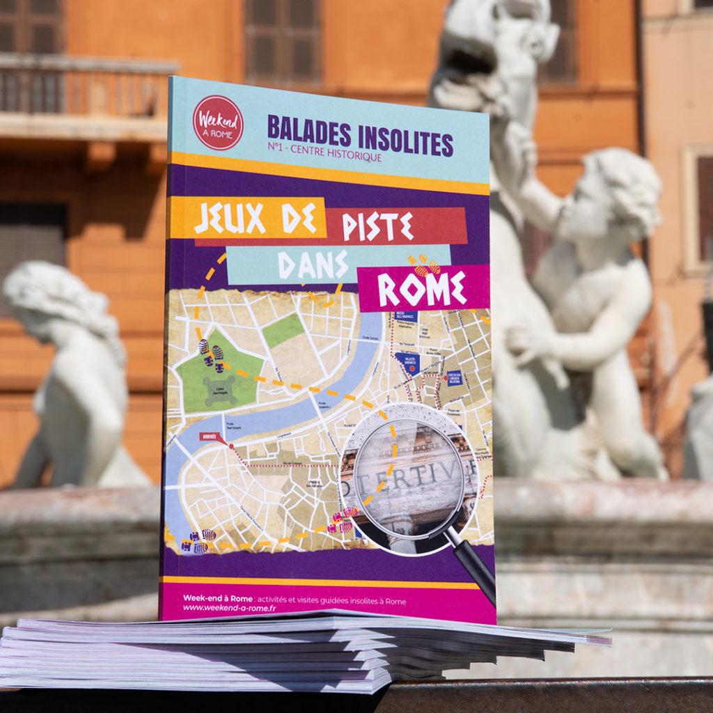 Jeux de piste dans Rome - balades insolites dans le centre historique de Rome