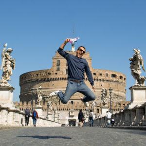 Jeux de piste dans Rome : arrivé au pont Saint Ange
