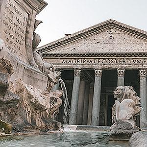 Visite guidée autour de la fontaine du Pantheon