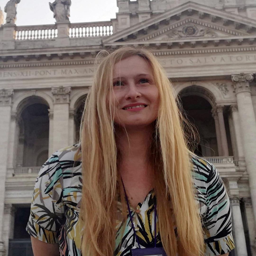 Silvia guide à Rome