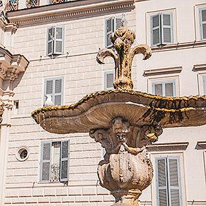 Visite guidée autour de la fontaine du palais Farnese