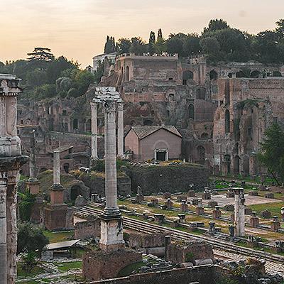Visite guidée de la Rome Antique au Forum romain