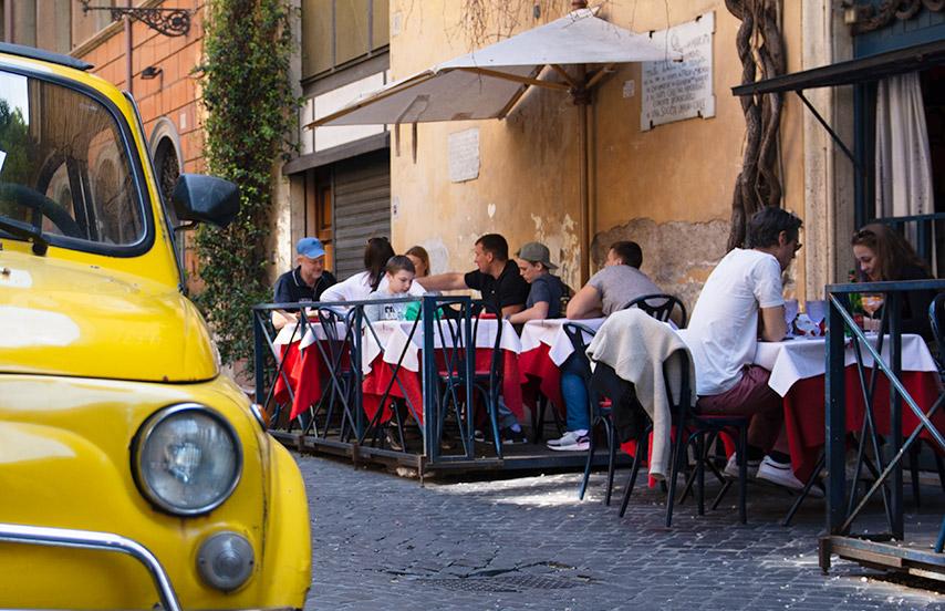 Les meilleurs restaurant à Rome