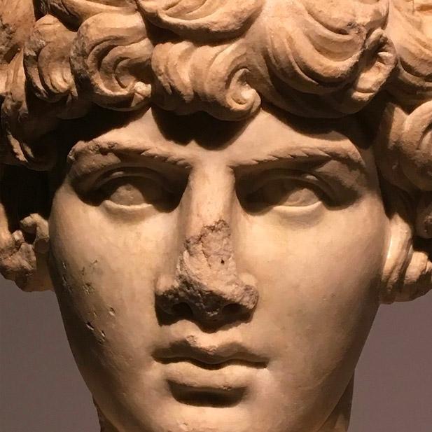 Antinoüs, le grand amour de l'empereur Hadrien